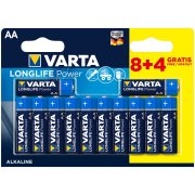 Varta Longlife Power AA; LR06; blister 8+4ks