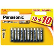 Panasonic Alkaline Power AAA Bronze,LR03; blister 20 ks