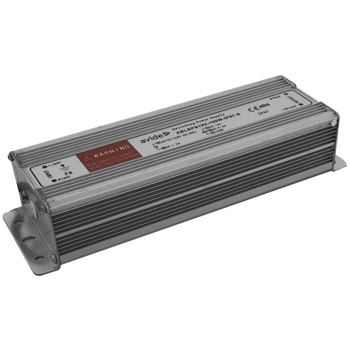 Avide ABLSPS12V-100W-IP67S LED zdroj 12V 100W IP67 Slim