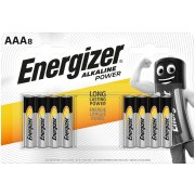 Energizer Alkaline Power AAA; LR03; blister 8 ks