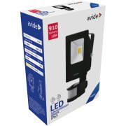 Avide LED SLIM Reflektor so senzorom 10W 910lm CW