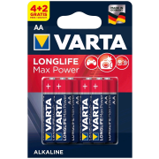 Varta Longlife Max Power AA; LR06; blister 4+2ks