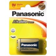 Panasonic Alkaline Power 9V Bronze; blister 1ks
