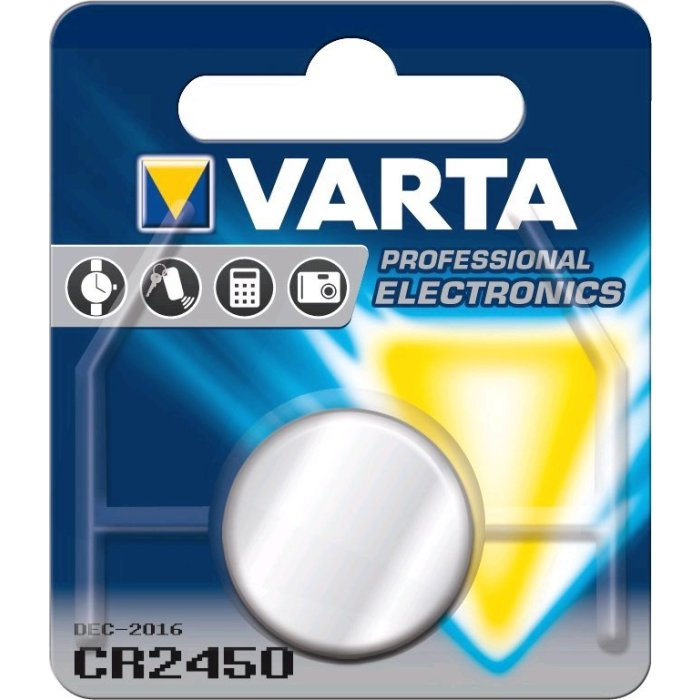Varta CR2450; blister 1ks