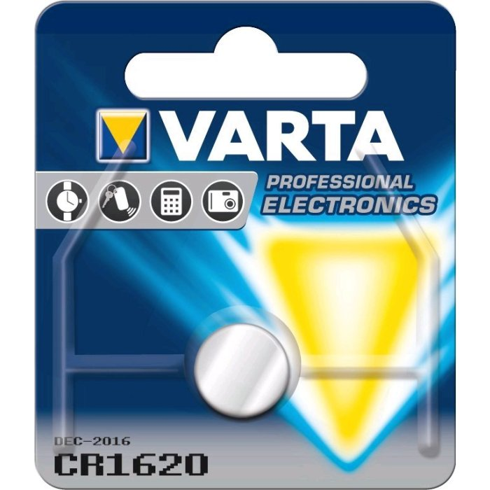 Varta CR1620; blister 1ks