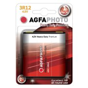 AgfaPhoto 4,5V Super; 3R12; blister 1ks