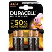 DURACELL PLUS Power AA; LR06; blister 4ks