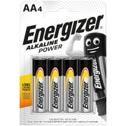 Energizer Alkaline Power AA; LR06; blister 4 ks