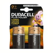 DURACELL PLUS Power D; LR20; blister 2ks