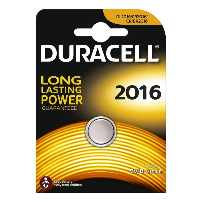 DURACELL DL2016 3V, blister 1ks