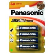 Panasonic Alkaline Power AA Bronze; LR06; blister 4 ks