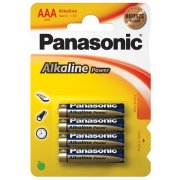 Panasonic Alkaline Power AAA Bronze, LR03; blister 4 ks