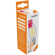 Avide LED žiarovka Filament Candle 7W E14 NW 4000K High Lumen (810lumen)