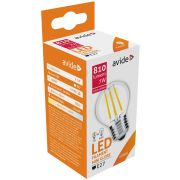 Avide LED žiarovka Filament Mini Globe 7W E27 NW High Lumen